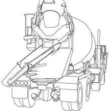 truck coloring pages tow truck