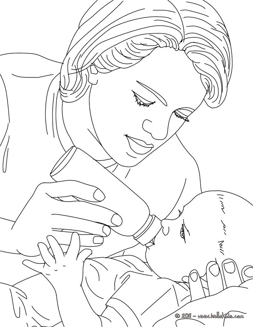 New Baby Girl Coloring Pages nurse coloring pages pediatric nurse
