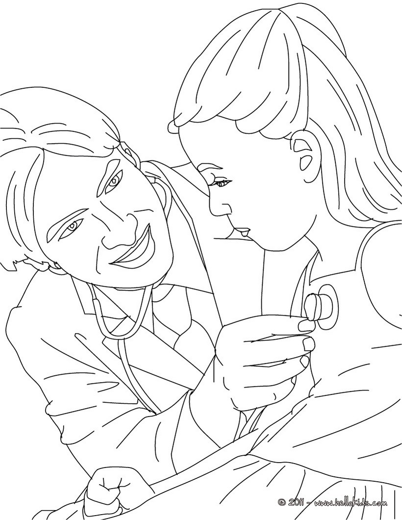 Doctor Coloring Pages 10 Free Coloring Pages People And Their