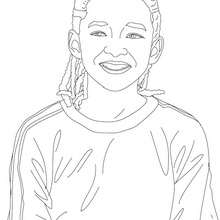 american celebrities coloring pages justin timberlake