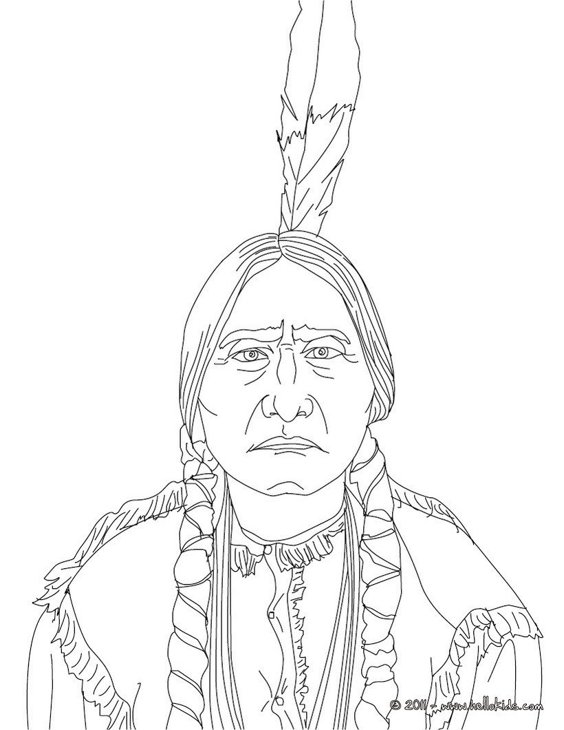 native americans coloring pages powhatan