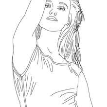 french celebrities coloring pages vanessa paradis french singer