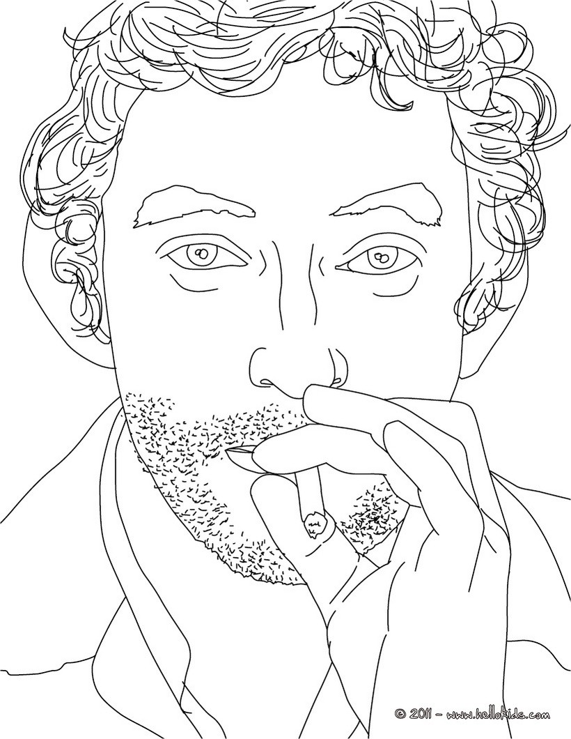 French celebrities coloring pages 10 free online coloring books