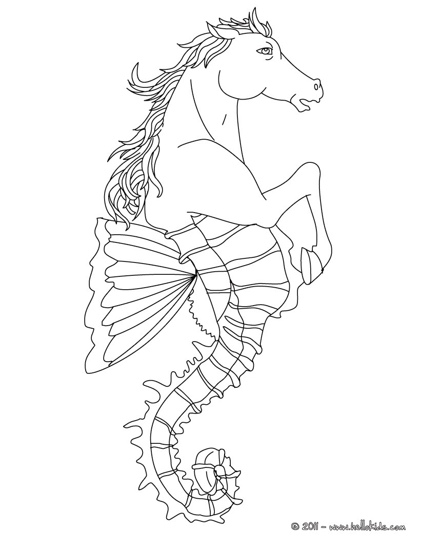 Free Worksheet Greek Mythology Worksheets greek mythology coloring pages for kids fabulous creatures and monsters hippocampus the