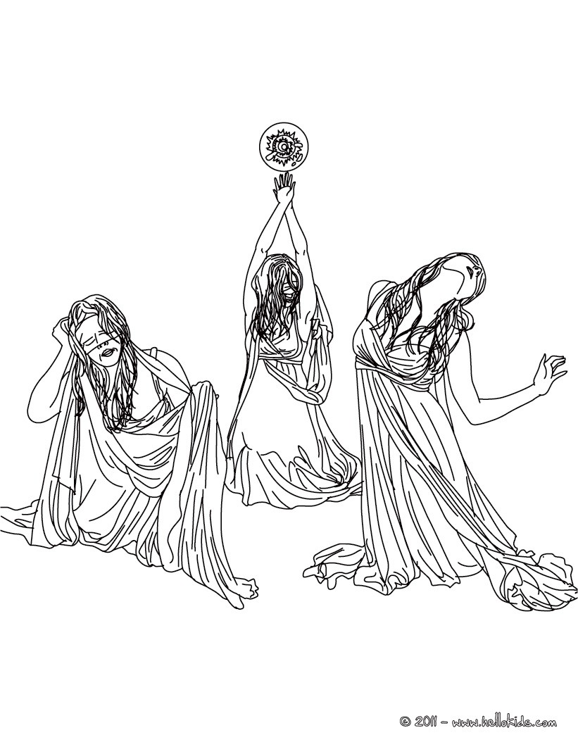 greek fabulous creatures and monsters coloring pages lernean
