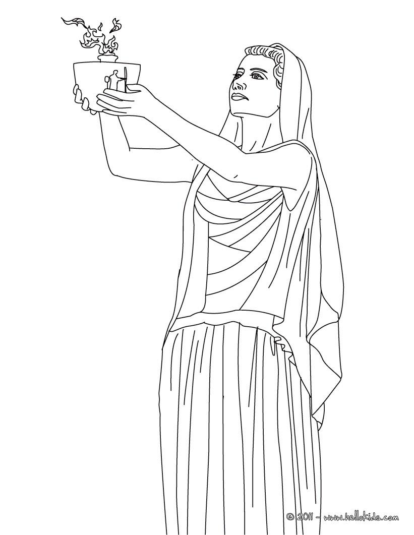 greek goddesses hestia the greek goddess of the