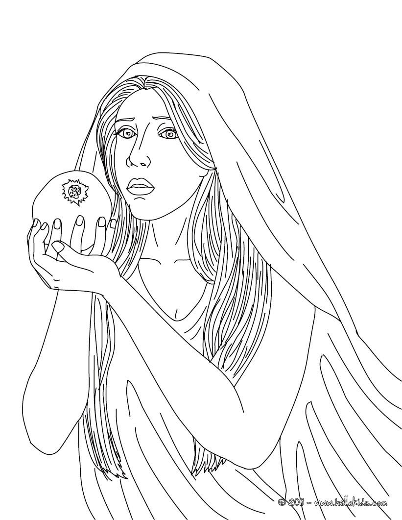 greek goddesses coloring pages goddess aphrodite