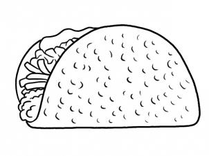 drawing food tutorials how to draw a taco