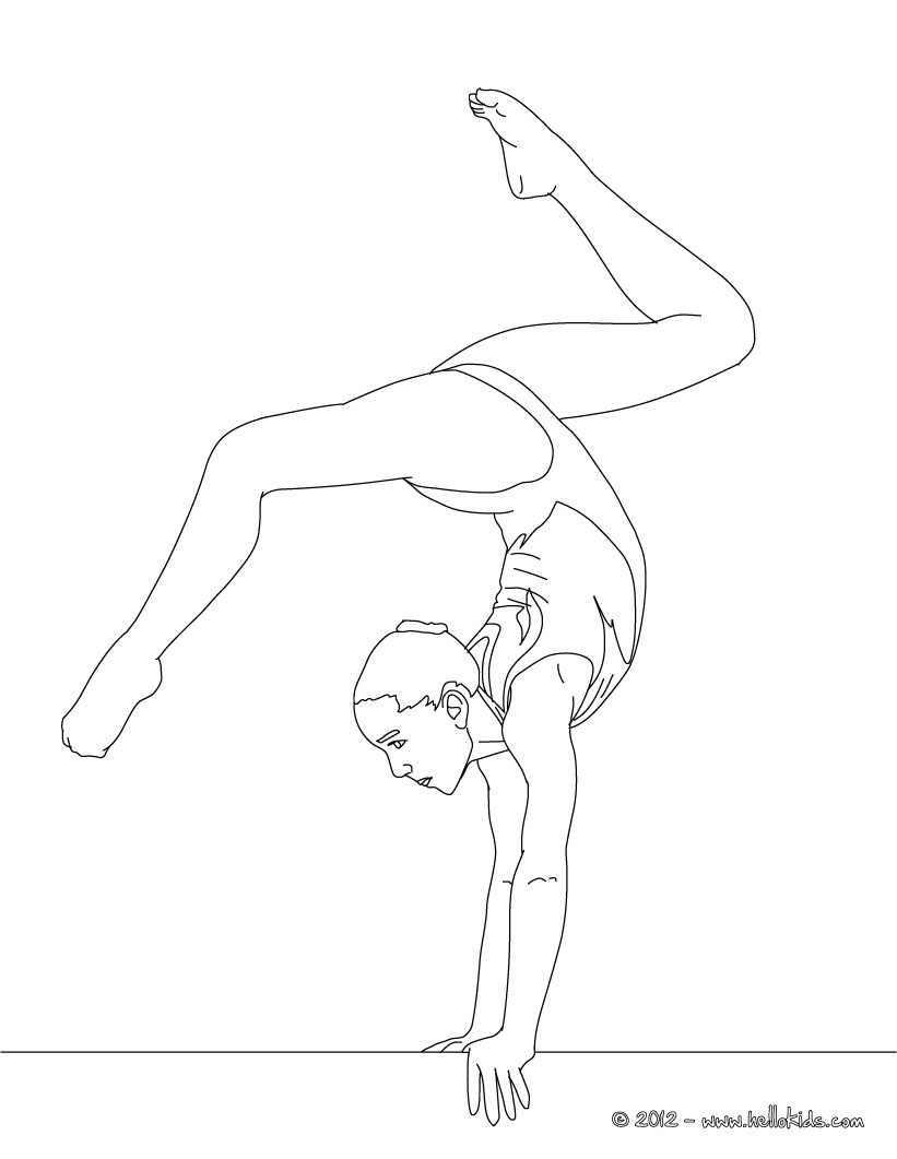 balance beam artistic