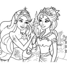 barbie coloring pages 347 online mattel dolls printables for girls