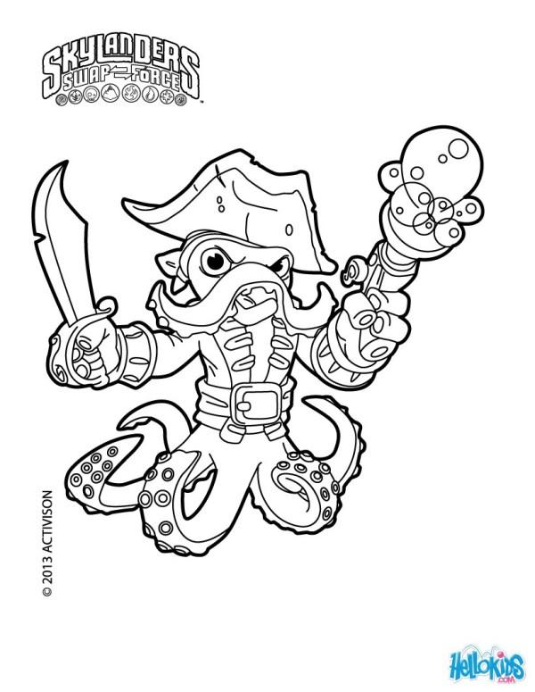 skylanders coloring pages to print # 9