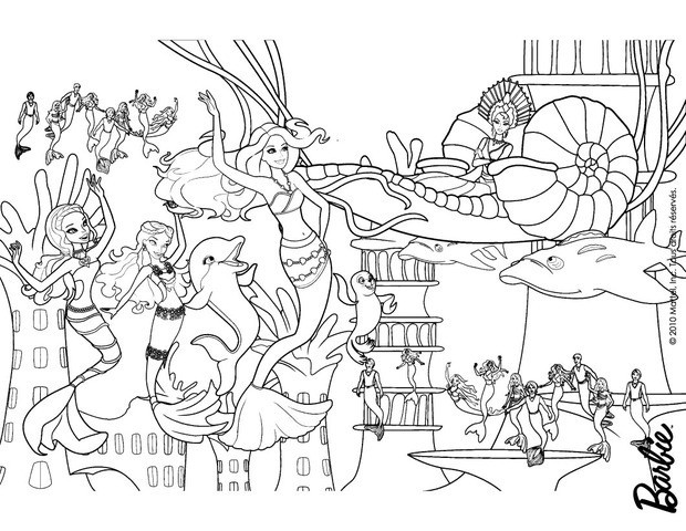barbie in a mermaid tale coloring pages 61 online mattel dolls