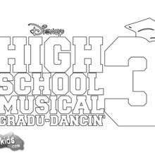 high school musical coloring pages # 1