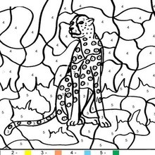 Color By Number Coloring Pages Hellokids Com