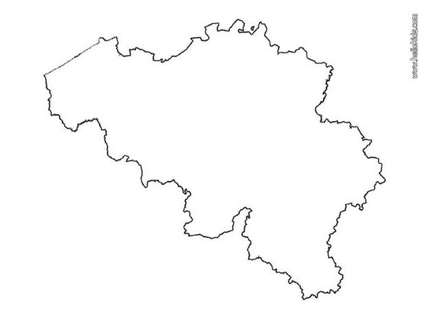 maps coloring pages belgium map