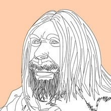 HOMO SAPIENS Coloring Pages 12 PREHISTORY Coloring Books