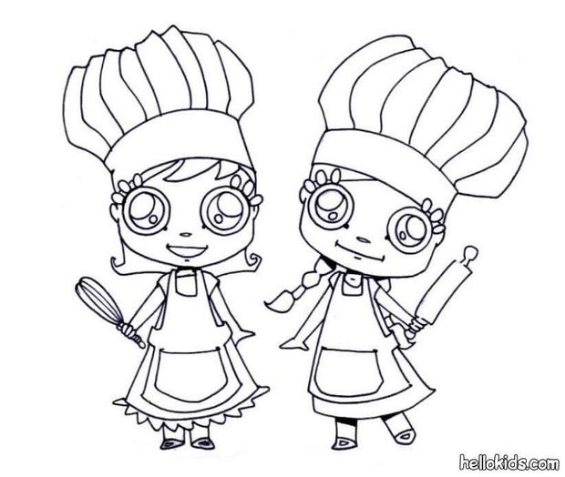 ready to cook coloring pages  hellokids