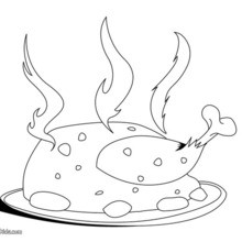 cooking coloring pages # 60
