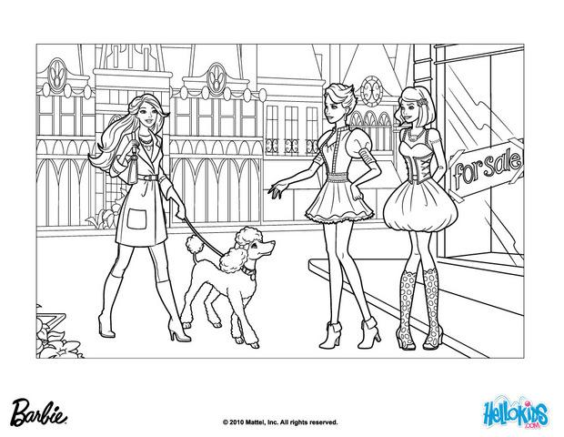 barbie a fashion fairytale coloring pages barbie takes sequin