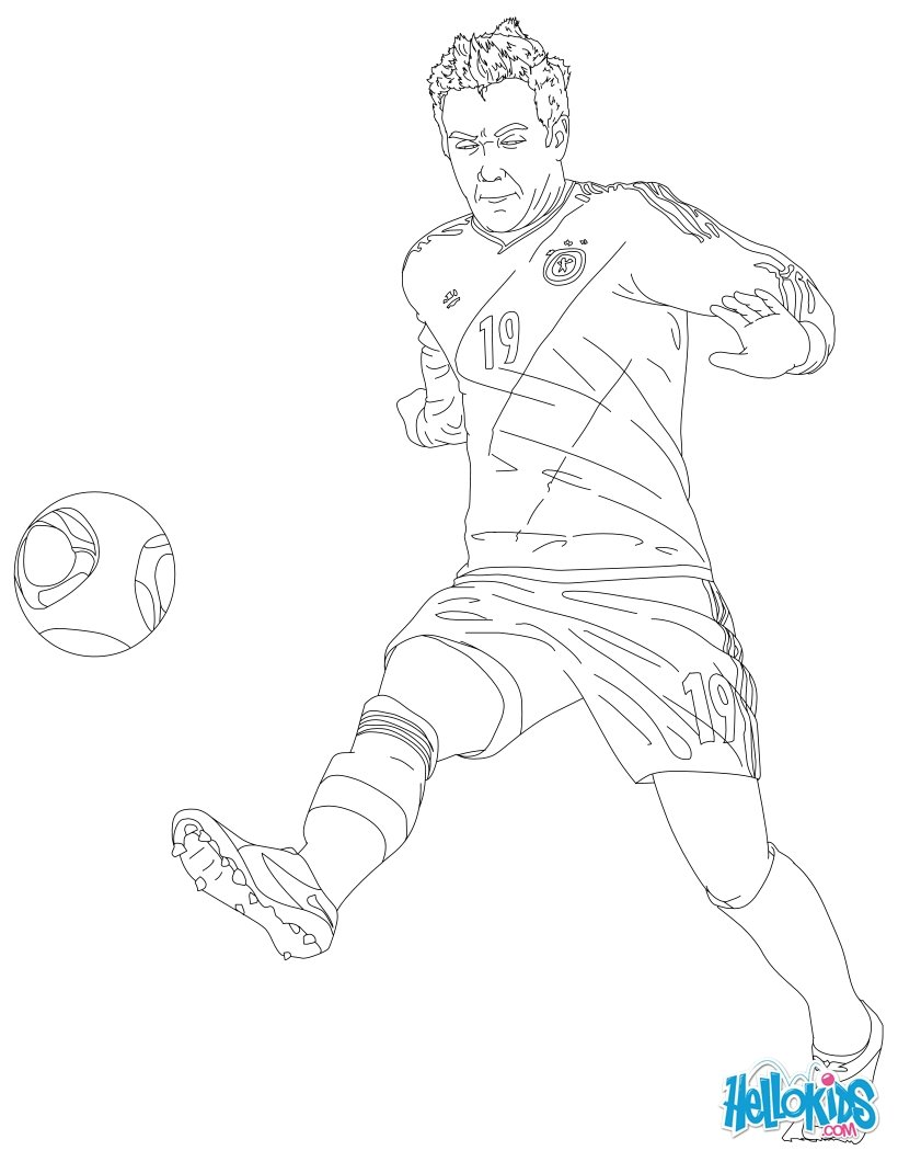 Soccer Coloring Pages Neymar Soccer Players Coloring Pages