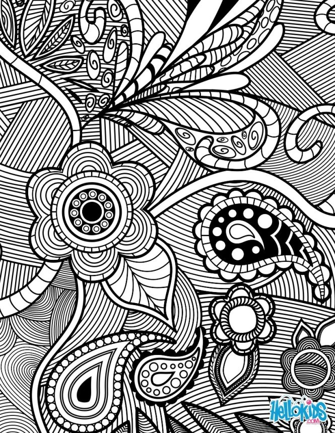 design coloring page   Coloring Page for kids