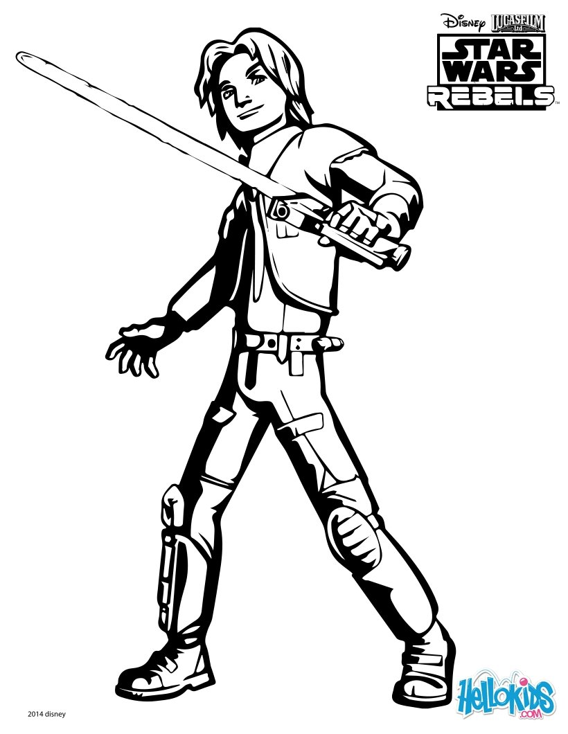 star wars coloring pages swr ezra