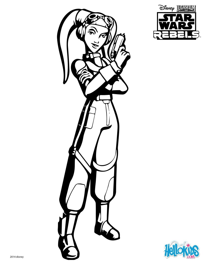 star wars coloring pages swr hera