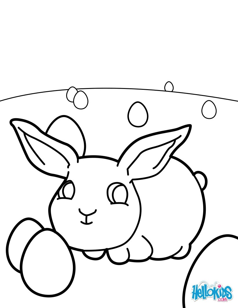 bunny color pages free online baby lola bunny coloring pages az