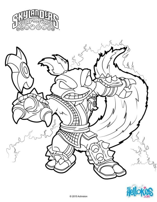 skylanders coloring pages to print # 5
