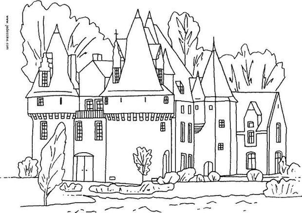 fairy castle coloring pages moats of the castle