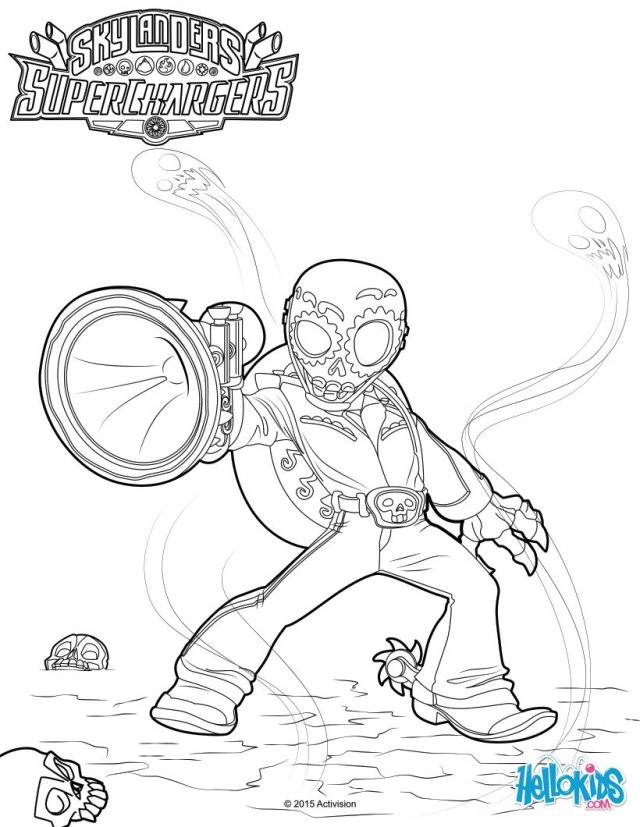 Skylanders SuperChargers coloring pages - 21 free online