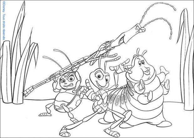 bugs life coloring pages a bug s life 11