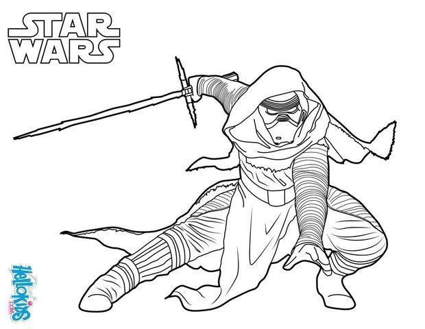 star wars coloring pages kylo ren star wars