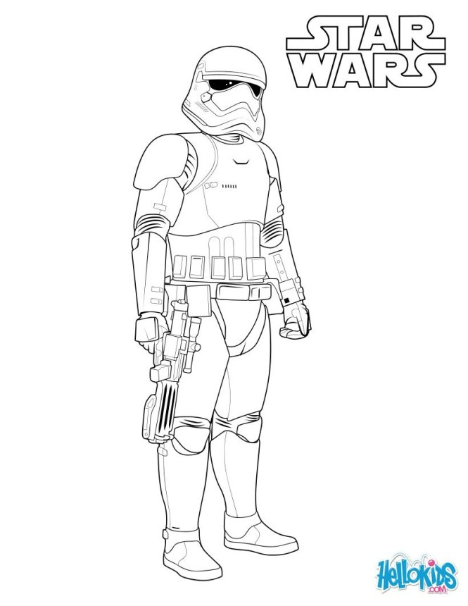 stormtrooper coloring pages | Coloring Page for kids
