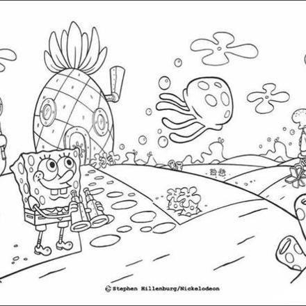 spongebob pineapple coloring pages spongebob coloring pages 31