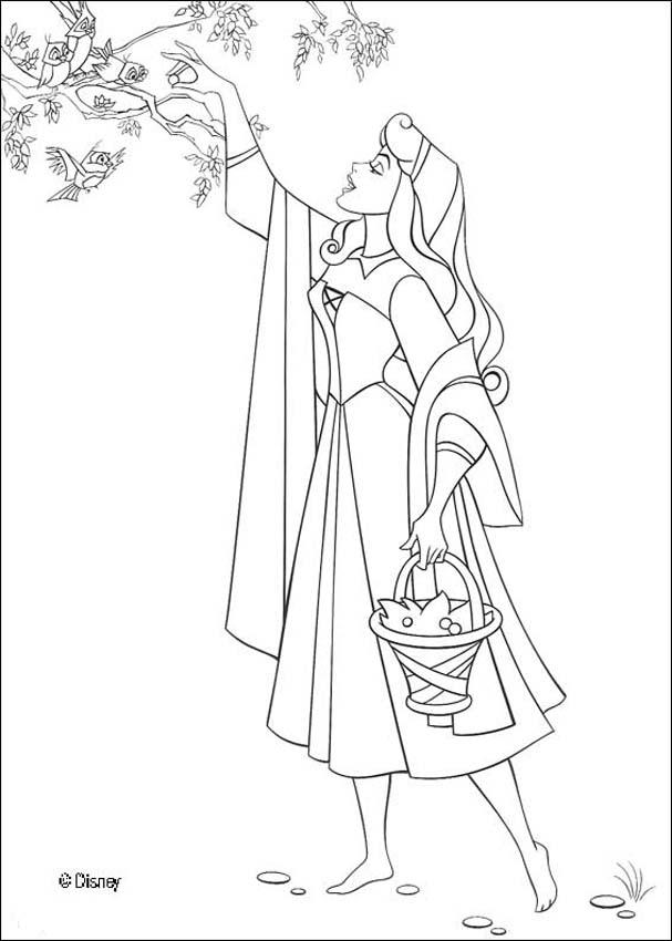 Beautiful Aurora Coloring Pages Hellokids Com