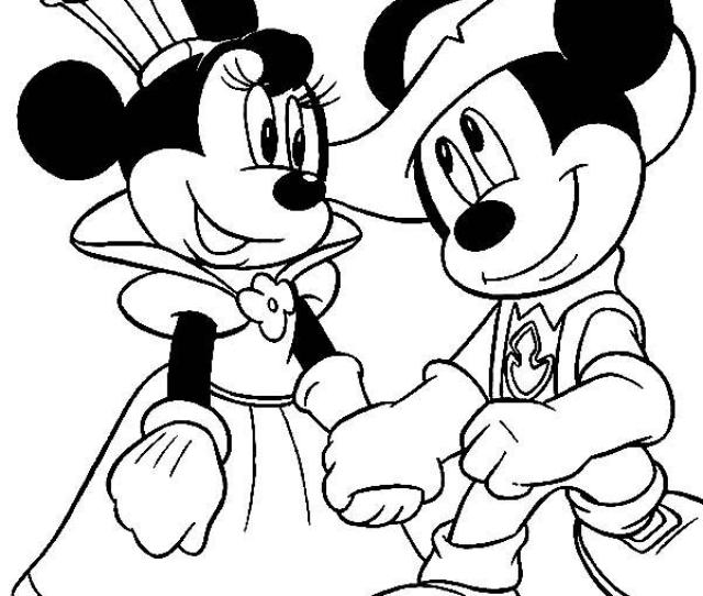 Mickey Mouse Coloring Pages  Free Disney Printables For Kids