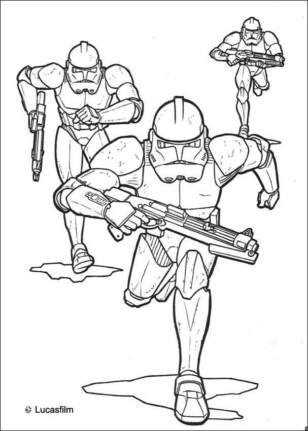 star wars coloring pages emperor clone soldiers