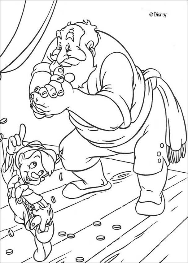 pinocchio coloring pages 18 free disney printables for kids to