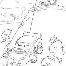 cars coloring pages mater