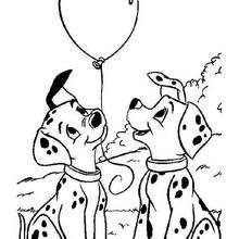 101 dalmatians coloring pages 41 free disney printables for kids