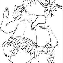 the jungle book coloring pages 45 free disney printables for