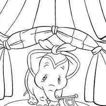 dumbo coloring pages baby dumbo