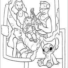 Lilo And Stitch Coloring Pages 33 Free Disney Printables For Kids To Color Online