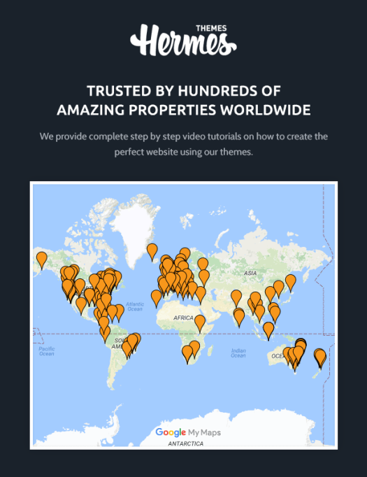 HermesThemes Clients Map