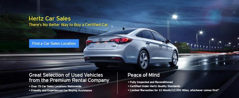 Hertz auto sales