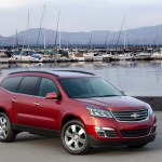2013 Chevrolet Traverse Chevy Review Ratings Specs Prices And Photos The Car Connection