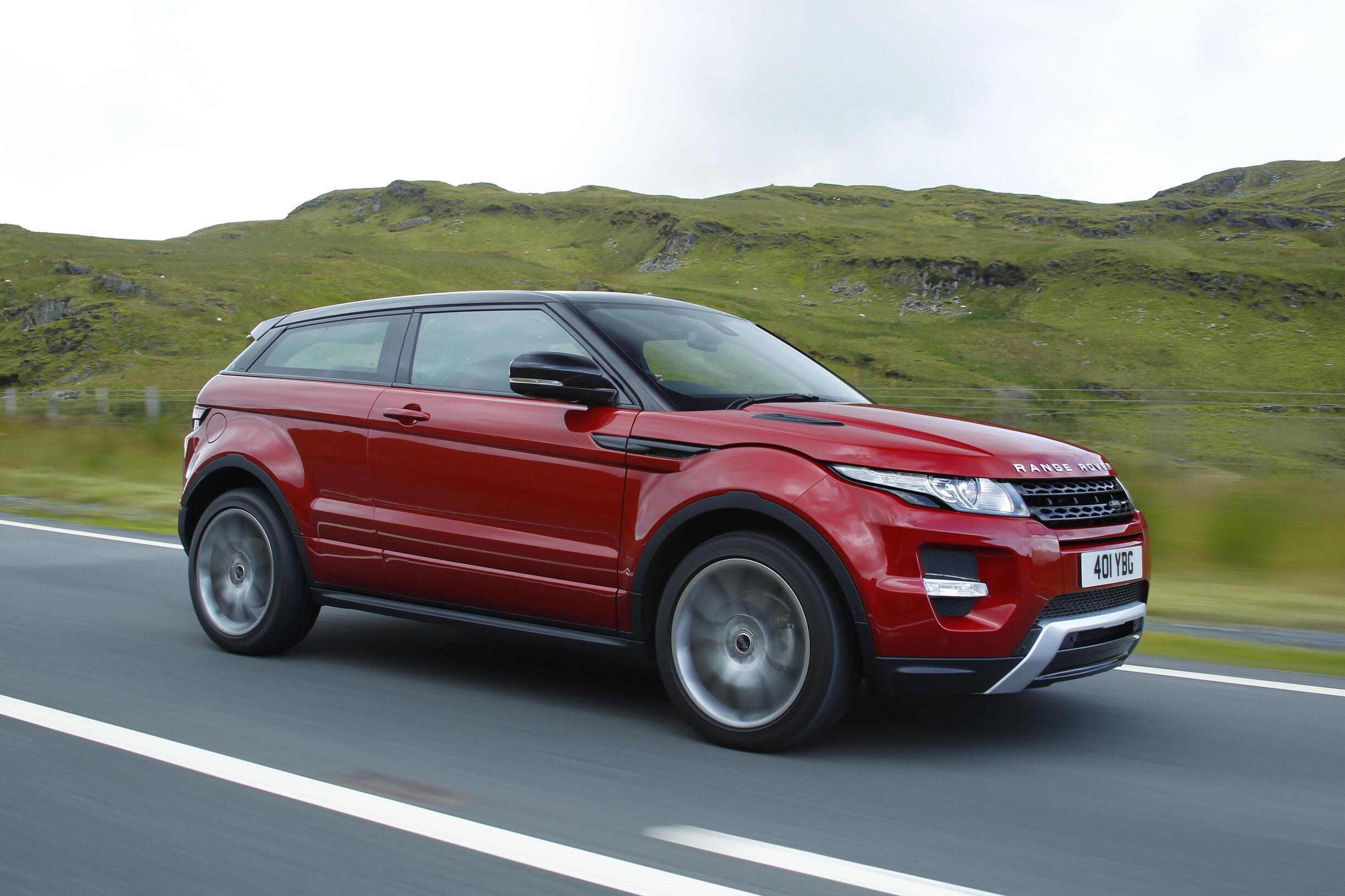 RIP 3 door Land Rover Range Rover Evoque goes away for 2018
