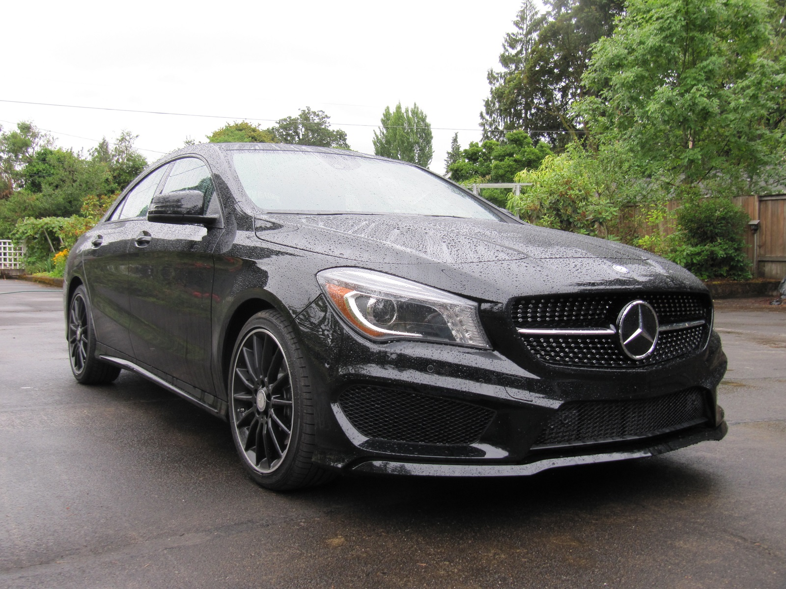 2014 Mercedes Benz CLA 250 Gas Mileage Review pact Luxury Sedan