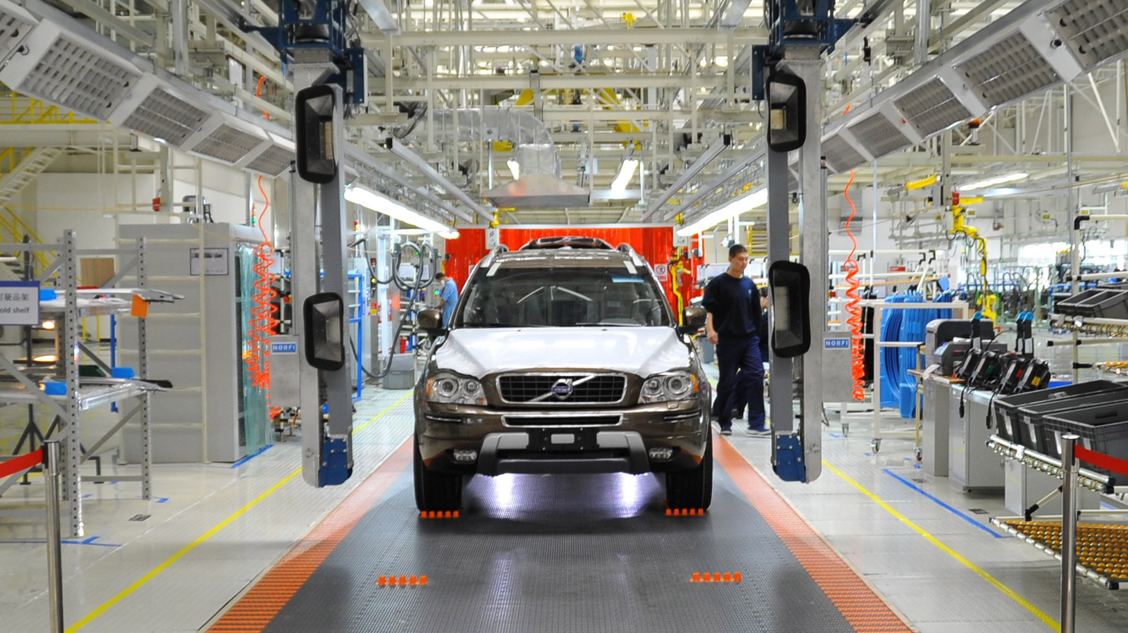 Volvo Confirms S90 Production For Chinese Plant